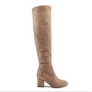 NWOT. Olivia Miller Over-The-Knee Boots